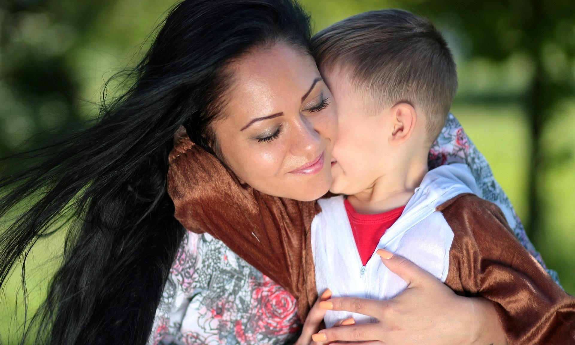 mamma e bambino